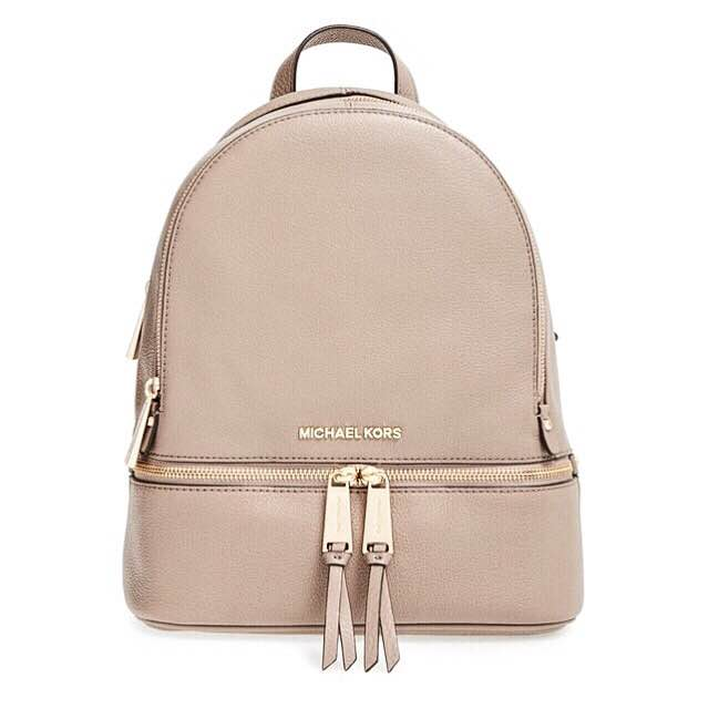 Mickael Kors must have backpack
