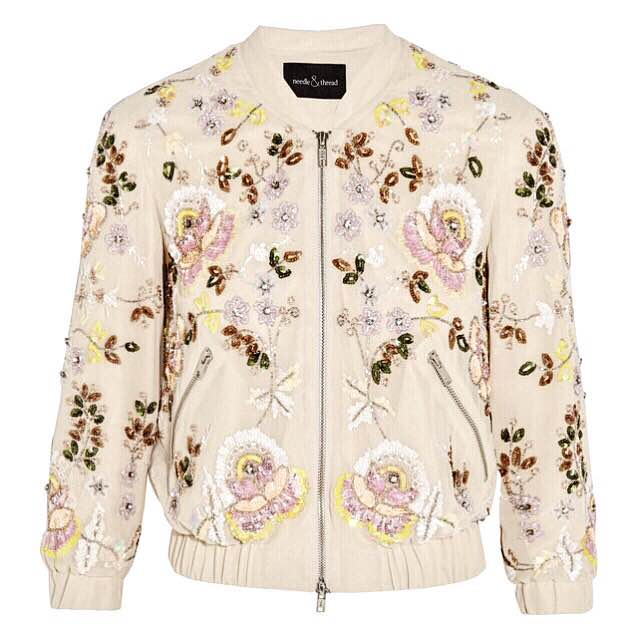 Needle and Thread, must have, bomber jacket